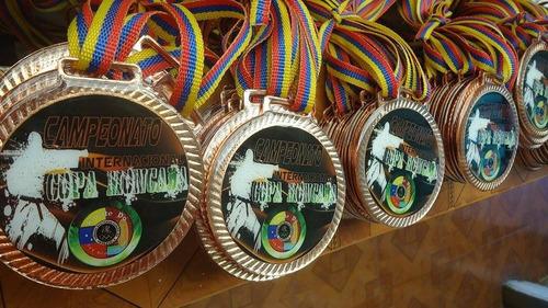medallas 80mm