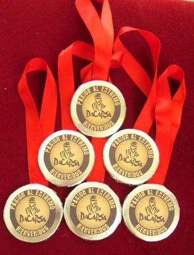 medallas de chocolate : eventos