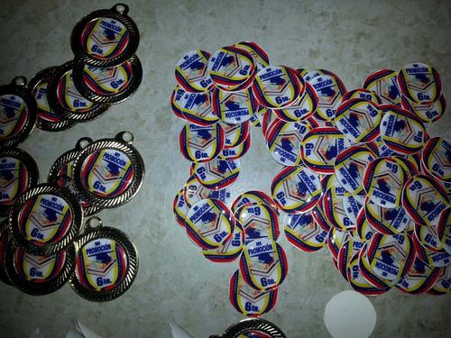 medallas de graduacion  para 6to y preescolar