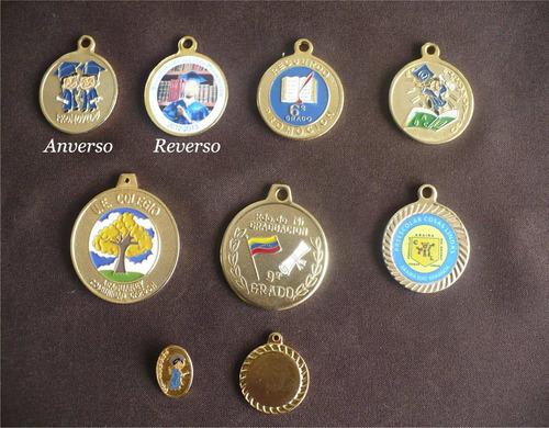 medallas de graduacion troquelas y digitalizadas, botones