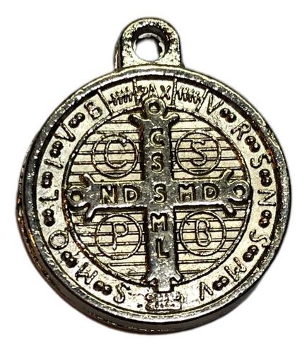 medallas de  san benito doble faz x 10 unidades