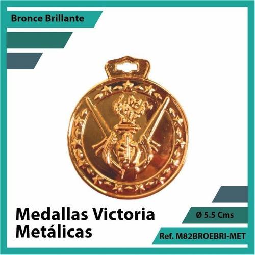 medallas deportivas de victoria bronce metalica m82brobri