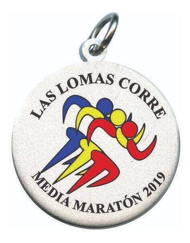 medallas deportivas maratón natación fútbol voley eventos