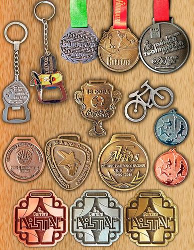 medallas deportivas, premiacion, industriales,pines en zamak