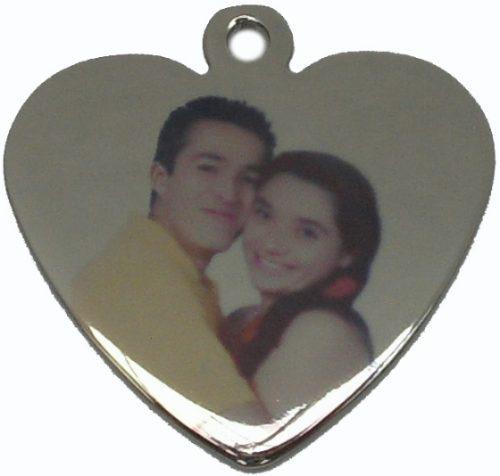 medallas dijes con su foto a color , regalo original joyas