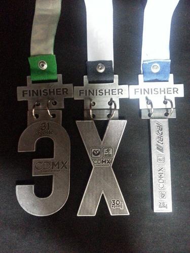medallas maratón ciudad de méxico