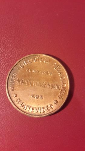 medallas museo biblioteca pedagogica, 32 mm, 1914, mt173
