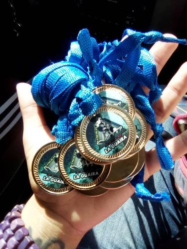 medallas pre-escolar y sexto grado