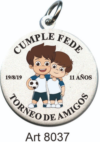 medallas souvenir cumpleaños eventos