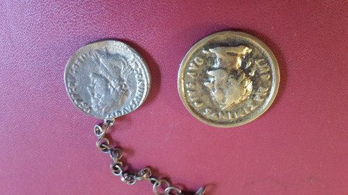 medallas tipo romanas, fotos, replica, mt042