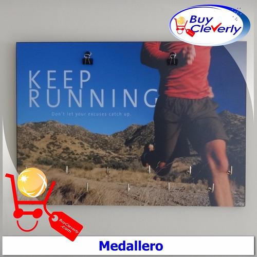 medallero porta medallas running maraton