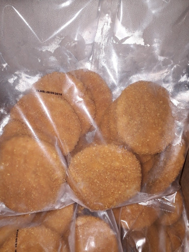 medallones de pollo rebozados simples