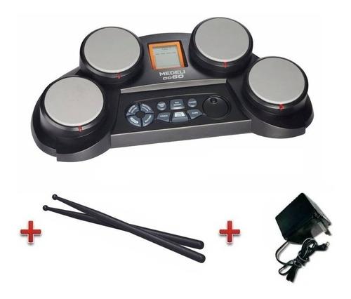 medeli dd60 bateria electronica octapad + palillos + fuente