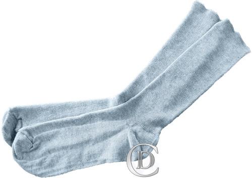 media algodón simple colores gris marrón verde
