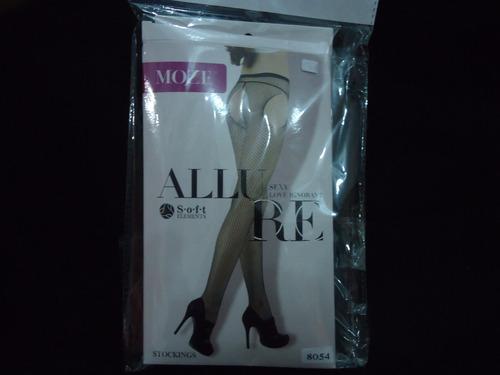 media allure soft elements stockings color negro nuevo
