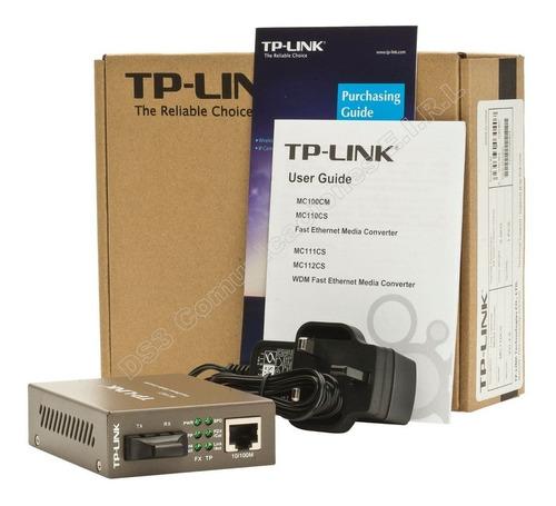 media converter multimodo gigabit tplink mc200cm fibra giga