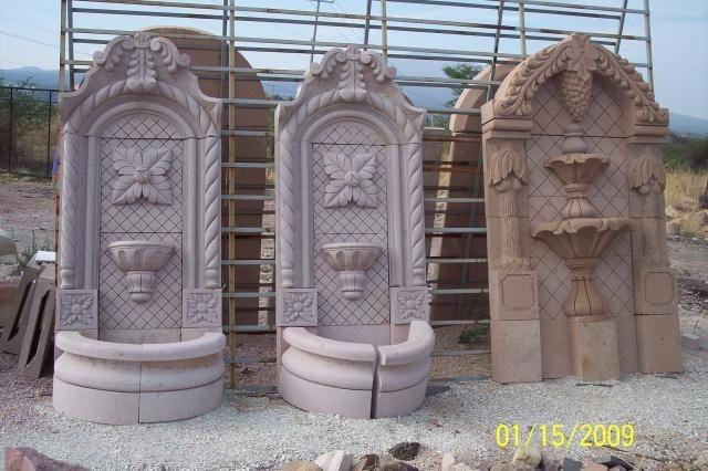 Fuente de pared exterior trendy fuentes decorativas with - Fuentes de pared ...
