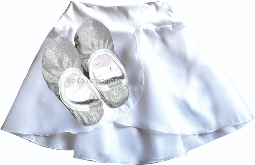 media punta zapatilla