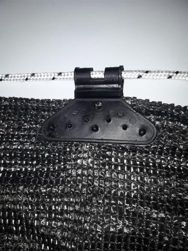 media sombra negra x metro -precio x 4,20 ancho