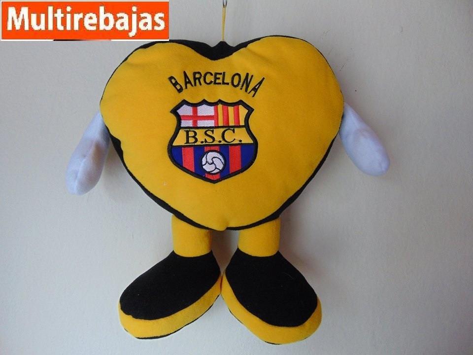 Mediana Almohada De Corazon Del Barcelona 45cm Us 1399 En