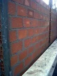 medianeras de ladrillos hueco con revoque $ 8495 x 10 m x 2m