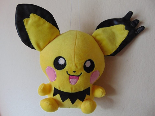 mediano peluche pokemon pichu 40cm