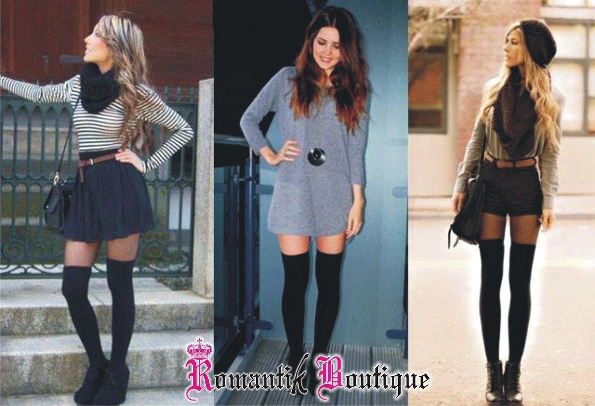 c7ceef649 Medias Bucaneras Media Bota Hipster Fashion Cosplay Liguero