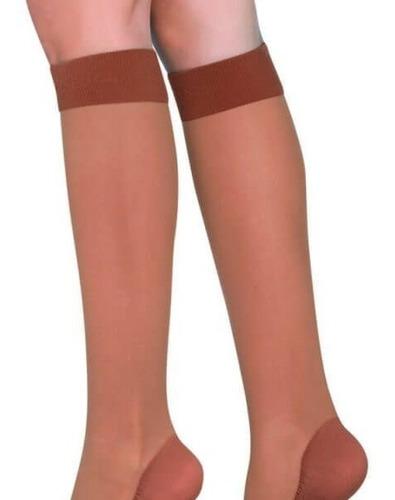 medias compresion antiembolicas  15-20mmhg a la rodilla