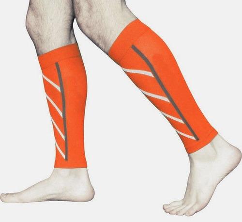 medias compresion sport soporte elástico mangas deporte par