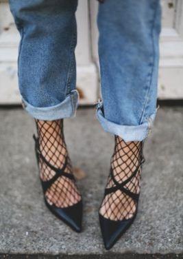 medias de malla (fashion) 2 pares