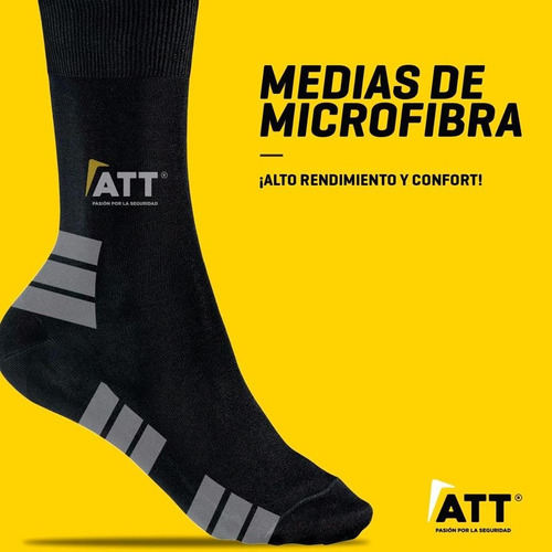 medias de trabajo att confort microfibra