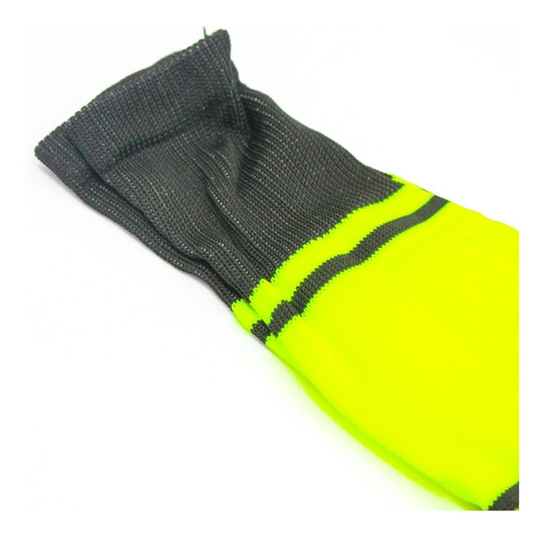 medias deportivas futbol semi profesionales - verde/negro