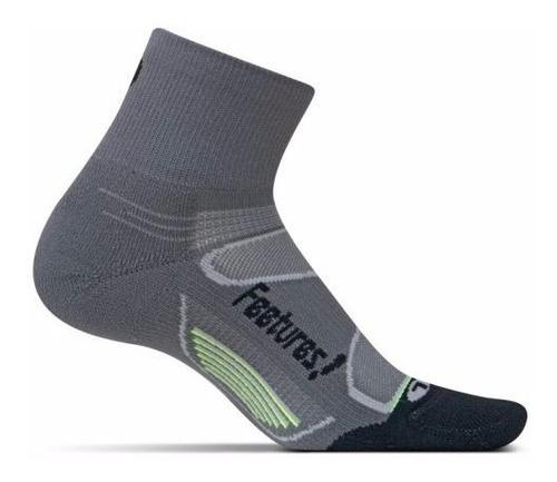 medias feetures elite light cushion quarter running unisex
