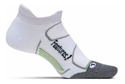 medias feetures elite max cushion no show tab running unisex