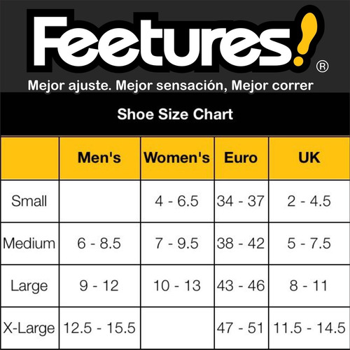medias feetures elite max cushion no show tab running unisex