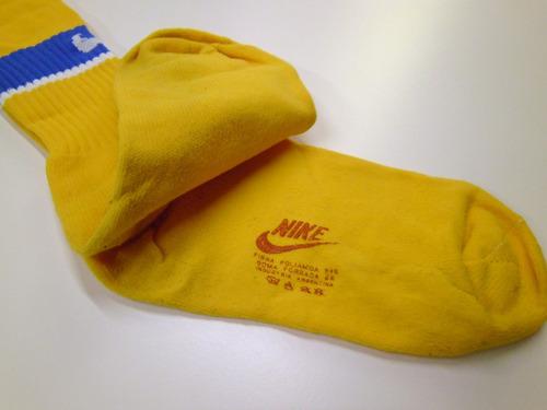 medias oficiales amarillas, 1998 talle adulto nuevas