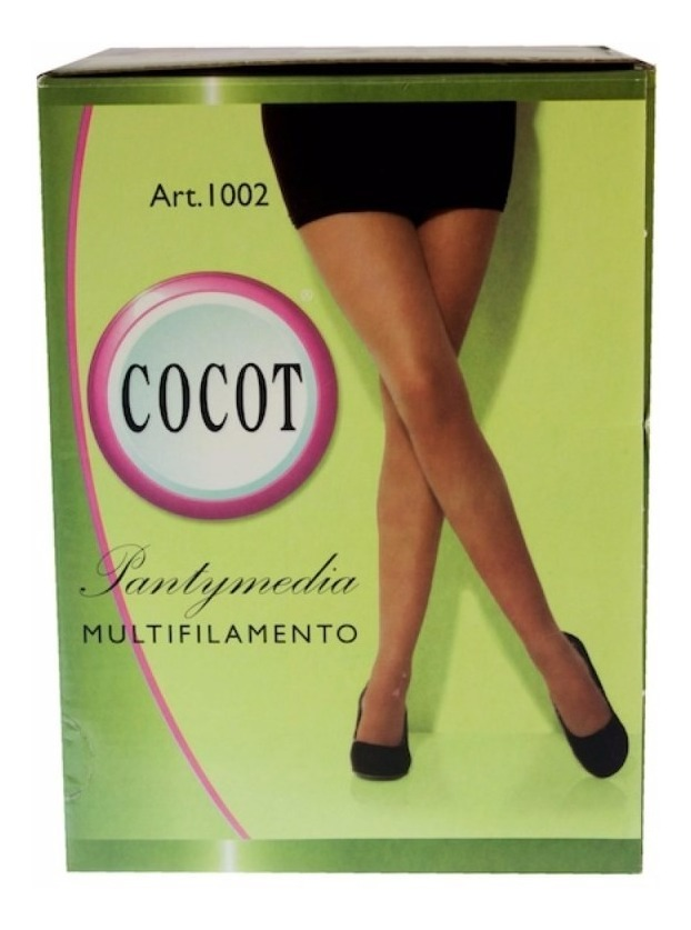 043f9f6af Medias Panty Multifilamento Can Can Cocot C/puntera X 12 Uni