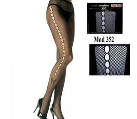 71bee2ea5 Medias Panty Pantis Dama Malla Sexy Calzas