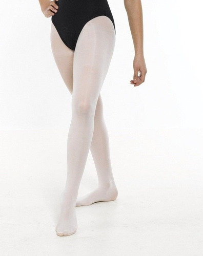 medias pantys mallas  ballet rosado blanco y negro