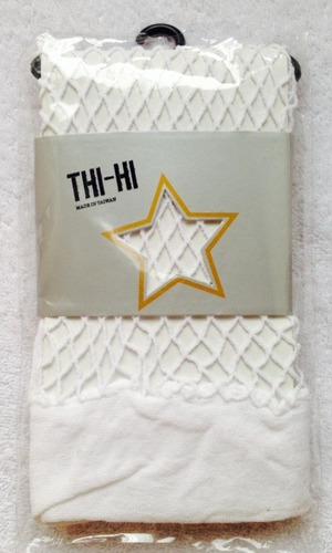 medias thi-hi - blancas de maya  / hot topic usa