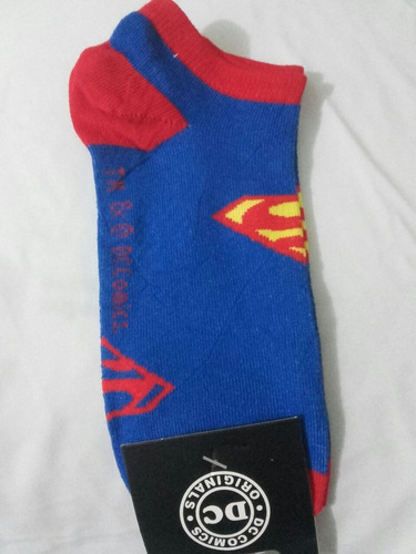 medias tobilleras super heroes batman, super man, spiderman