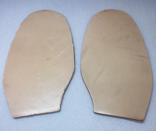mediasuela cortada para compostura mujer suela