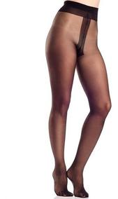 72147b64d Medibachas Panty Can Can Opacas Talle Especial Mora 11205