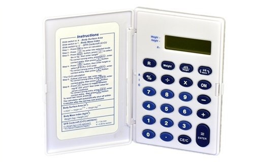 Medical Calculator Multi-function Bmi (body Mass Index), Crc