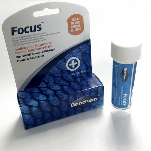 medicamento para peces seachem focus 5g