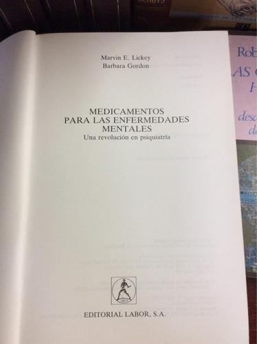 medicamentos para las enfermedades mentales, marvin e. licke