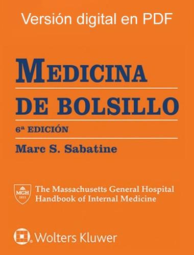 medicina de bolsillo 6°edición sabatine