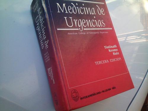medicina de urgencias - tercera edición - mc graw-hill