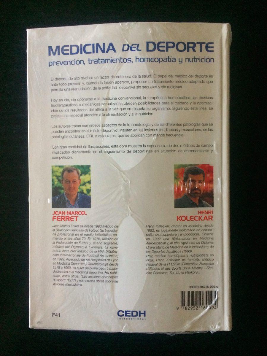 Medicina Del Deporte - Bs. 0,23 en Mercado Libre