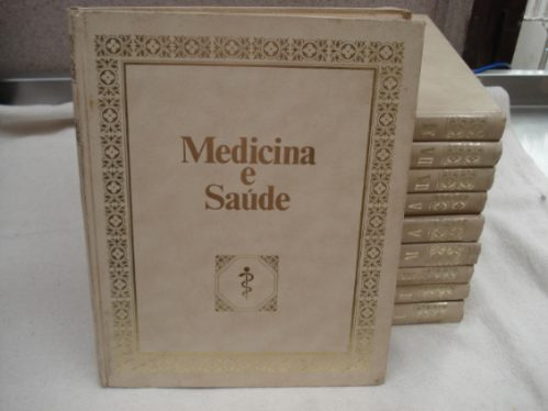 medicina e saúde  10 volumes